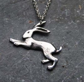 Handmade-Pewter-Hare-Necklace-