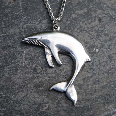 Handmade-Pewter-Minke-Whale-Necklace