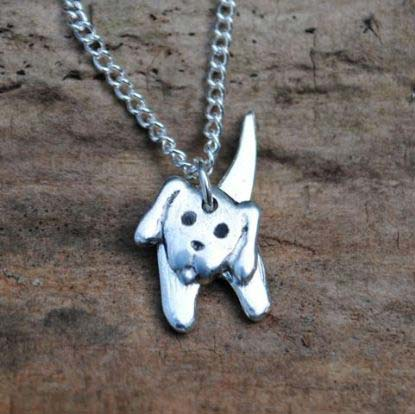 Handmade-Pewter-Two-Part-Dog-Necklace