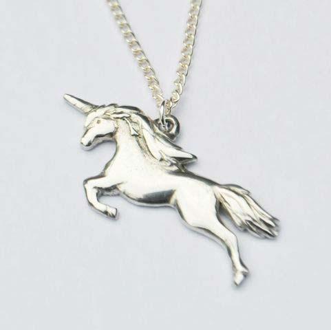 Handmade-Pewter-Unicorn-Necklace