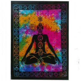 Tie Dye Wall Art Wall Hanging - Chakra