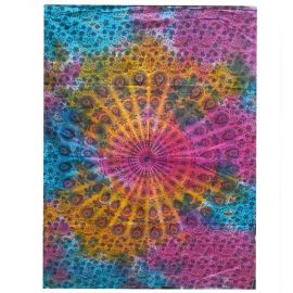 Tie Dye Wall Art Wall Hanging - Mandala