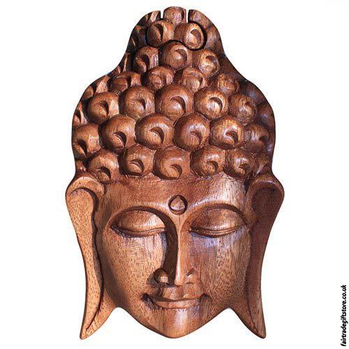 Fair-Trade-Wooden-Puzzle-Trinket-Box-Buddha-Head