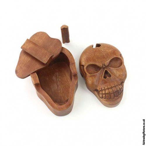 Fair-Trade-Wooden-Puzzle-Trinket-Box-Skull