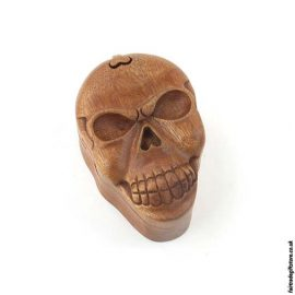 Fair-Trade-Wooden-Puzzle-Trinket-Box-Skull-open